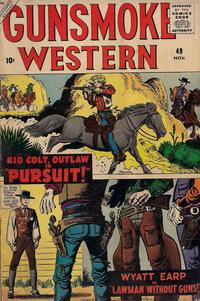 Cover Thumbnail for Gunsmoke Western (Marvel, 1955 series) #49