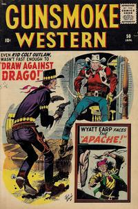 Cover Thumbnail for Gunsmoke Western (Marvel, 1955 series) #50