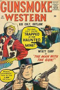Cover Thumbnail for Gunsmoke Western (Marvel, 1955 series) #51