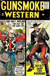 Cover Thumbnail for Gunsmoke Western (Marvel, 1955 series) #52