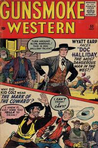 Cover Thumbnail for Gunsmoke Western (Marvel, 1955 series) #53