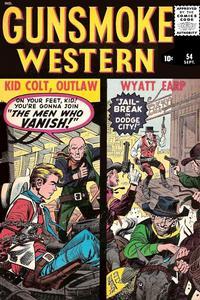 Cover Thumbnail for Gunsmoke Western (Marvel, 1955 series) #54