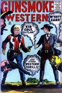 Cover Thumbnail for Gunsmoke Western (Marvel, 1955 series) #55