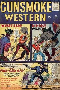 Cover Thumbnail for Gunsmoke Western (Marvel, 1955 series) #57