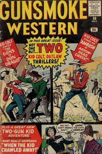 Cover Thumbnail for Gunsmoke Western (Marvel, 1955 series) #59