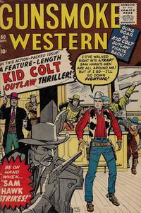 Cover Thumbnail for Gunsmoke Western (Marvel, 1955 series) #60