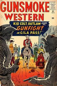 Cover Thumbnail for Gunsmoke Western (Marvel, 1955 series) #61
