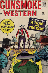 Cover Thumbnail for Gunsmoke Western (Marvel, 1955 series) #63