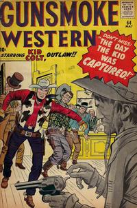 Cover Thumbnail for Gunsmoke Western (Marvel, 1955 series) #64