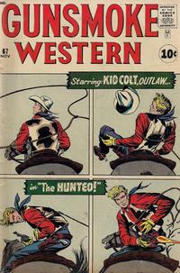 Cover Thumbnail for Gunsmoke Western (Marvel, 1955 series) #67