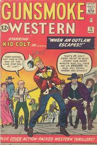 Cover Thumbnail for Gunsmoke Western (Marvel, 1955 series) #70