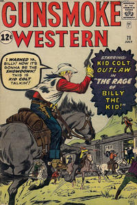 Cover Thumbnail for Gunsmoke Western (Marvel, 1955 series) #71