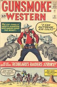 Cover Thumbnail for Gunsmoke Western (Marvel, 1955 series) #73