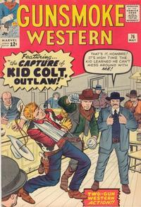 Cover Thumbnail for Gunsmoke Western (Marvel, 1955 series) #76
