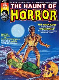 Cover Thumbnail for Haunt of Horror (Marvel, 1974 series) #1