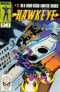 Cover Thumbnail for Hawkeye (Marvel, 1983 series) #2 [Direct]