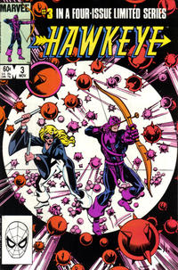 Cover Thumbnail for Hawkeye (Marvel, 1983 series) #3 [Direct]