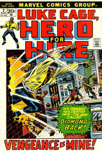 Cover Thumbnail for Hero for Hire (Marvel, 1972 series) #2