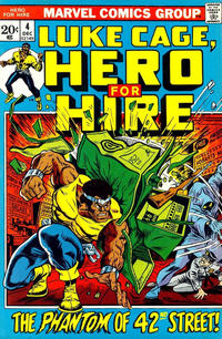 Cover Thumbnail for Hero for Hire (Marvel, 1972 series) #4