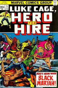 Cover Thumbnail for Hero for Hire (Marvel, 1972 series) #5