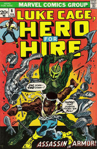 Cover Thumbnail for Hero for Hire (Marvel, 1972 series) #6