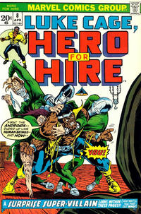 Cover Thumbnail for Hero for Hire (Marvel, 1972 series) #8