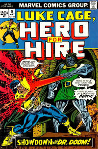 Cover Thumbnail for Hero for Hire (Marvel, 1972 series) #9
