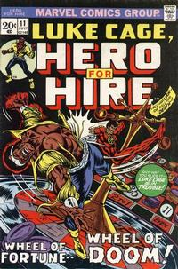 Cover Thumbnail for Hero for Hire (Marvel, 1972 series) #11