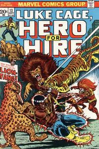 Cover Thumbnail for Hero for Hire (Marvel, 1972 series) #13