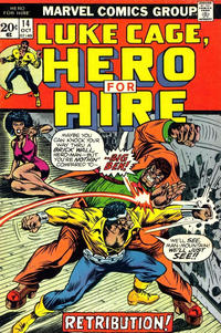 Cover for Hero for Hire (Marvel, 1972 series) #14