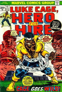 Cover Thumbnail for Hero for Hire (Marvel, 1972 series) #15