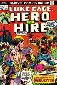 Cover Thumbnail for Hero for Hire (Marvel, 1972 series) #16