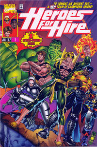 Cover Thumbnail for Heroes for Hire (Marvel, 1997 series) #1 [Direct Edition]