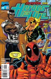 Cover Thumbnail for Heroes for Hire (Marvel, 1997 series) #10