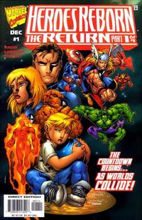 Cover Thumbnail for Heroes Reborn: The Return (Marvel, 1997 series) #1 [Direct Edition]