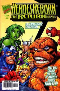 Cover Thumbnail for Heroes Reborn: The Return (Marvel, 1997 series) #4