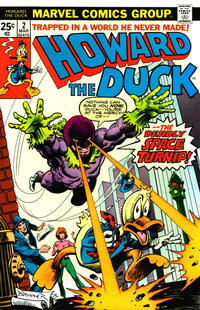 Cover Thumbnail for Howard the Duck (Marvel, 1976 series) #2 [Regular Edition]