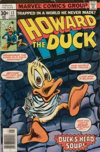 Cover Thumbnail for Howard the Duck (Marvel, 1976 series) #12 [Regular Edition]