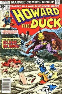 Cover Thumbnail for Howard the Duck (Marvel, 1976 series) #15 [30¢]