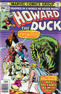 Cover Thumbnail for Howard the Duck (Marvel, 1976 series) #22 [Regular Edition]