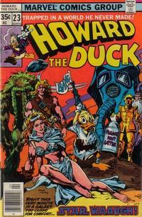 Cover Thumbnail for Howard the Duck (Marvel, 1976 series) #23 [Regular Edition]