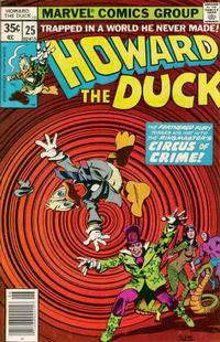 Cover Thumbnail for Howard the Duck (Marvel, 1976 series) #25 [Regular Edition]