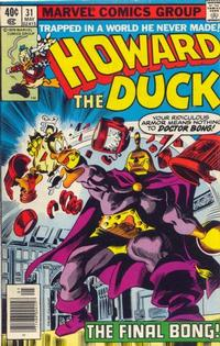 Cover Thumbnail for Howard the Duck (Marvel, 1976 series) #31