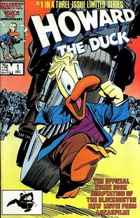 Cover Thumbnail for Howard the Duck: The Movie (Marvel, 1986 series) #1