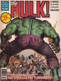 Cover Thumbnail for Hulk (Marvel, 1978 series) #13