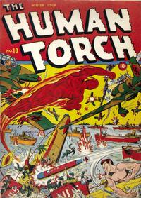 Cover Thumbnail for The Human Torch (Marvel, 1940 series) #10