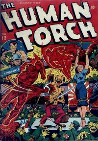 Cover Thumbnail for The Human Torch (Marvel, 1940 series) #12
