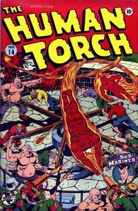 Cover Thumbnail for The Human Torch (Marvel, 1940 series) #14
