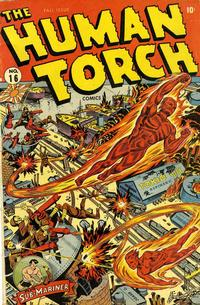 Cover Thumbnail for The Human Torch (Marvel, 1940 series) #16