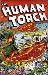 Cover Thumbnail for The Human Torch (Marvel, 1940 series) #17